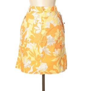 Columbia Tropical Print Active Skirt
